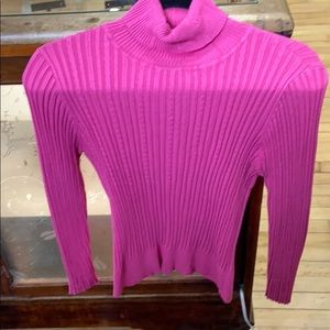 Pink Turtle Neck. Bamboo Traders